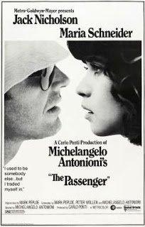 The Passenger, Antonioni, Film Poster