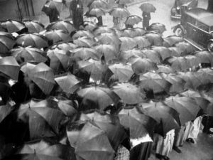 Hitchcock's Umbrellas from Foreign Correspondent