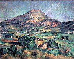 Paul Cezanne, Mont Sainte-Victoire seen from Bellevue,