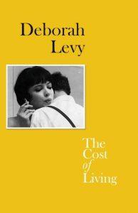 Front cover for Deborah Levy, The Cost of Living, insert photo taken from film Vivre Sa Vie