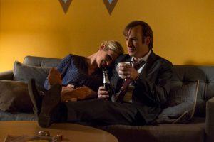 Better Call Saul, Rhea Seehorn & Bob Odenkirk Romantic