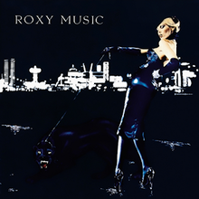 For Your Pleasure, The Second Roxy Music LP (record cover)