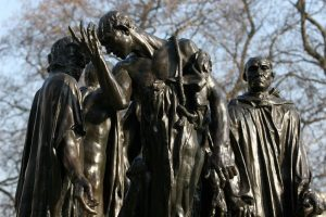The Burghers of Calais, Auguste Rodin (1889)