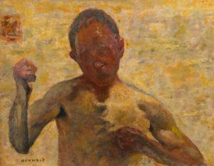 Pierre Bonnard, The Boxer (1931)