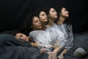 REM sleep disorder, when the sleep paralysis stops working