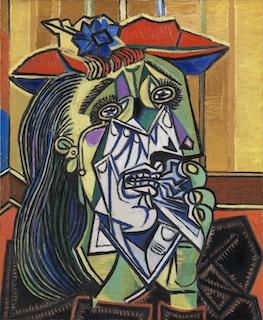 Weeping Woman, Picasso (1937)