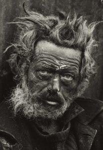 Homeless Irishman, Spitalfields, London 1970 Tate (c) Don McCullin