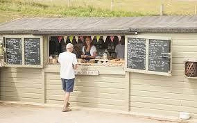 The Hidden Hut, Porthcurnick Beach, Cornwall