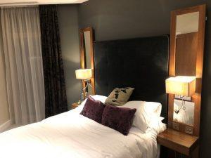 Swanky Hotel Bed