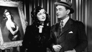 Edward G Robinson, Joan Bennett, The Woman in the Window (Fritz Lang 1944)