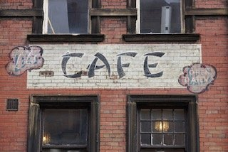 Leeds ghost sign, Lil's Cafe